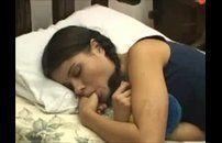 Ninfetinha brasileira levando uma esculachada no cu