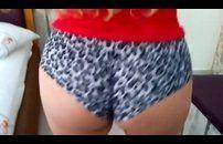 Video feito em casa da minha esposa levando vara 02